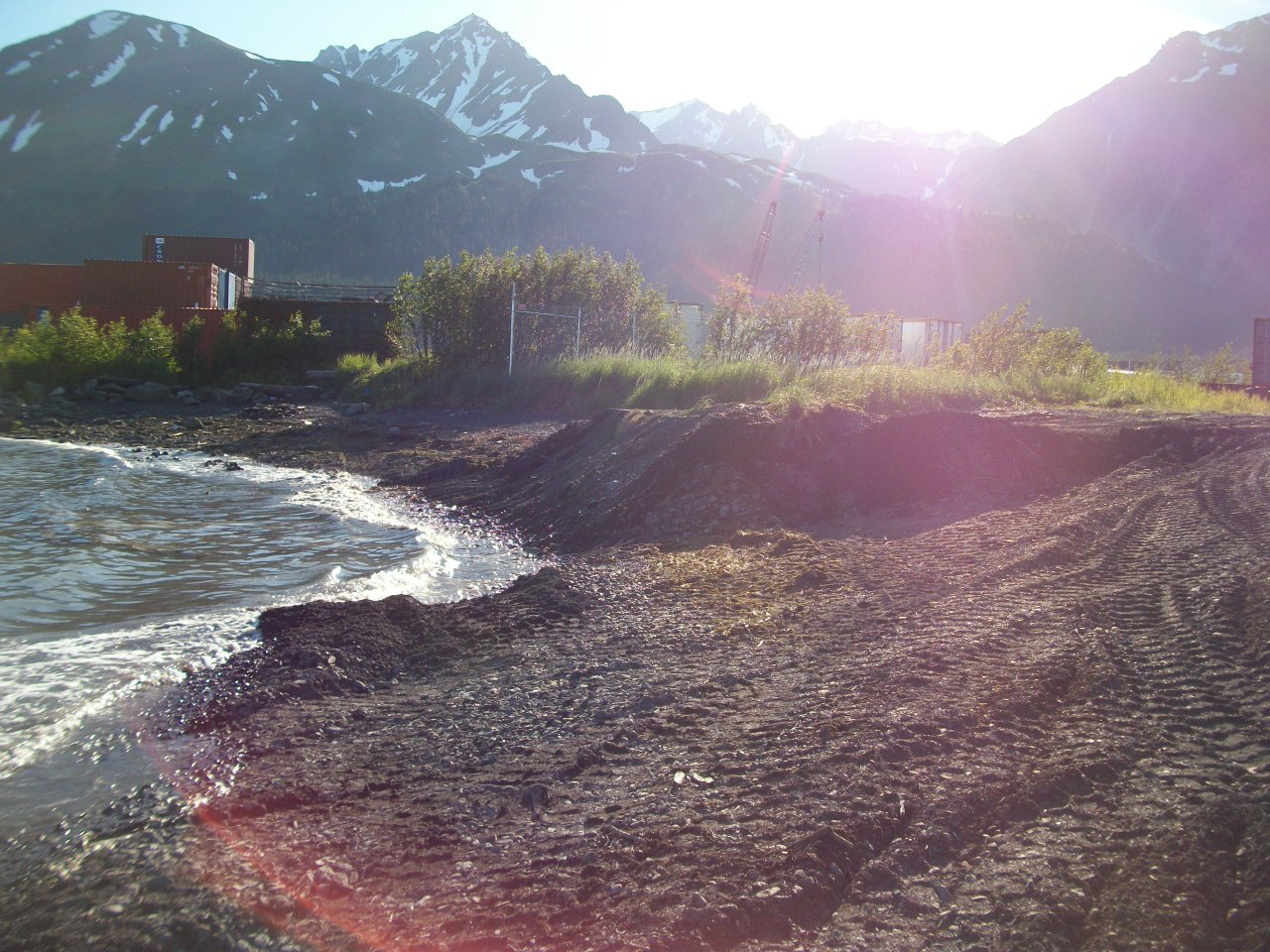 View from one of TAIT's projects in Alaska