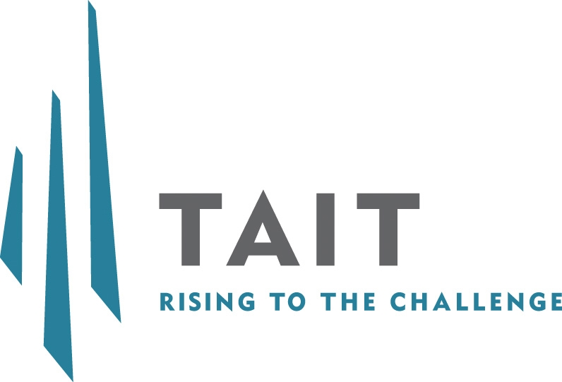 TAIT - Rising to the Challenge, Logo Image