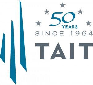 Picture of the TAIT 50th Anniversary Logo
